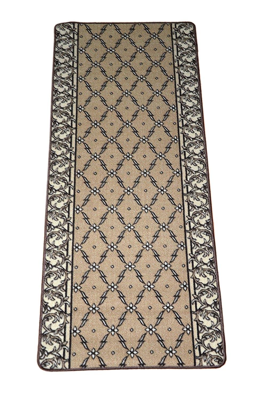 Amazon Trellis Beige Carpet Rug Hallway Runner 5 Industrial Inside Rug Runners For Hallways (#4 of 20)