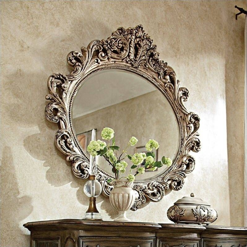 American Drew Jessica Mcclintock The Boutique Oval Mirror In Inside Boutique Mirrors (View 7 of 30)