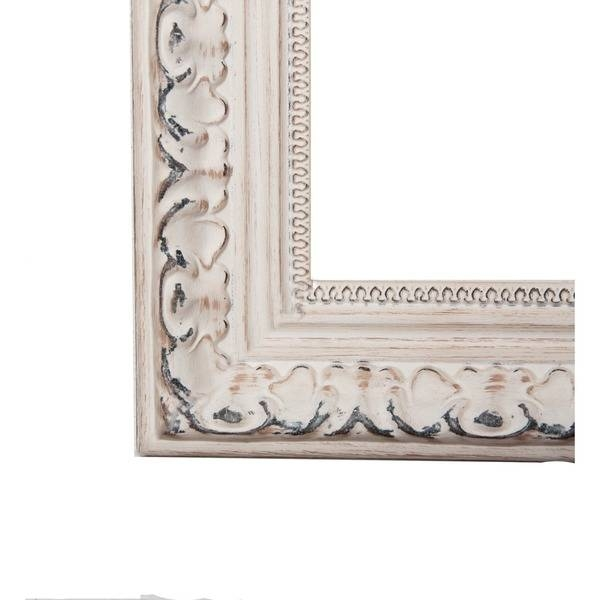 American Made Rayne Distressed French Victorian White Full Length In Victorian Full Length Mirrors (#3 of 20)