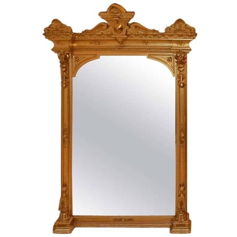 American Victorian Mantel Pier Mirror For Sale At 1Stdibs Throughout Victorian Mirrors (#5 of 30)