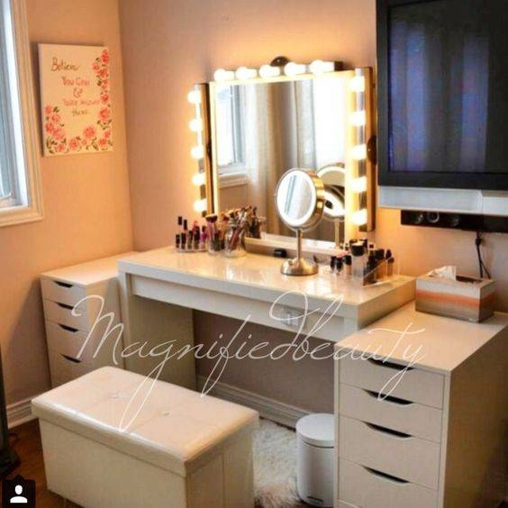 Amusing Vanity Dressing Table With Lights Gallery – Interior Throughout Illuminated Dressing Table Mirrors (#5 of 20)