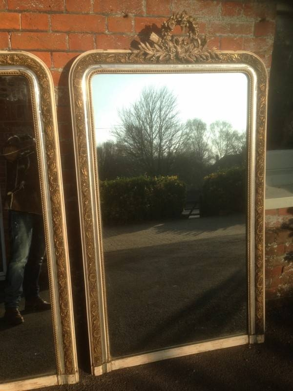 An Absolutely Stunning Pair Of Highly Unusual Large Antique 19Th Throughout Unusual Large Mirrors (#8 of 20)