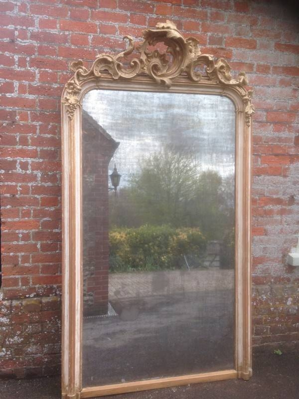 An Absolutely Stunning Very Large Antique 19Th Century French For Antique Large Mirrors (#9 of 20)