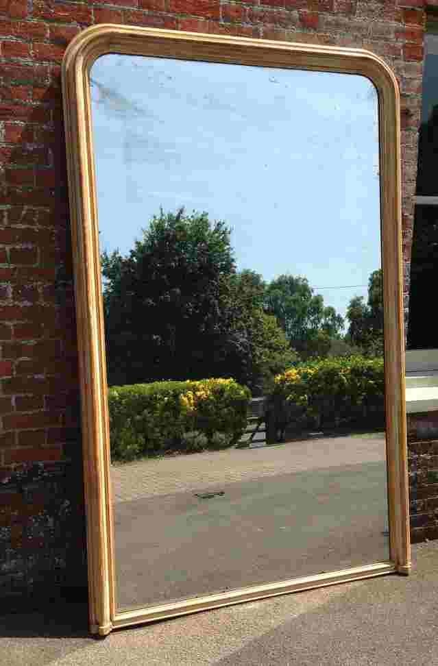 An Absolutely Stunning Very Large Original Antique 19Th Century For Very Large Mirrors (#4 of 30)