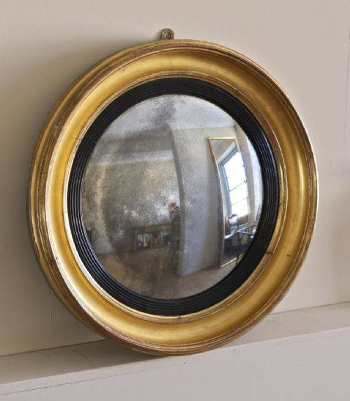 An English Nineteenth Century Giltwood Convex Mirror | 334343 For Buy Convex Mirrors (#9 of 30)