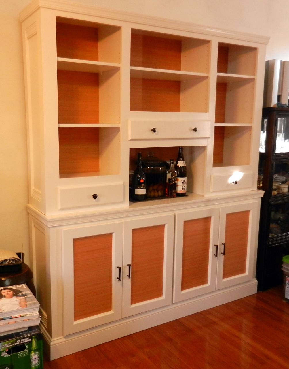 Ana White | Shanty Sideboard And Hutch – First Build – Diy Projects Pertaining To Sideboard With Hutch (#1 of 20)