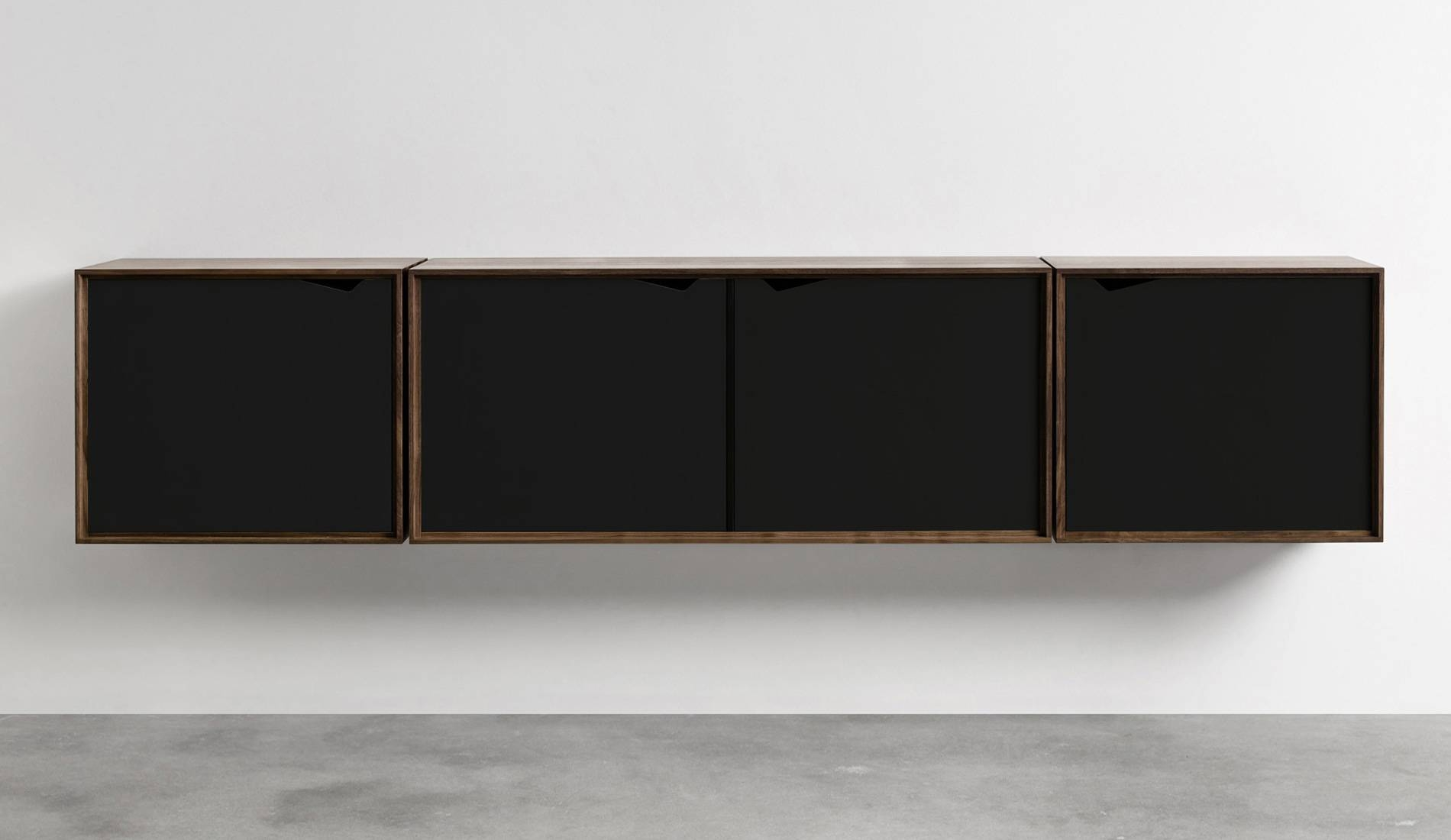 Andersen S2 Walnut / Black Sideboard | Dopo Domani In Black And Walnut Sideboard (#2 of 20)