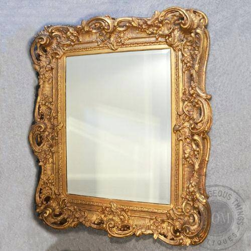 Antique A New Mirror For An Aged Effectantique Looking Mirrors With Regard To Vintage Looking Mirrors (View 11 of 20)