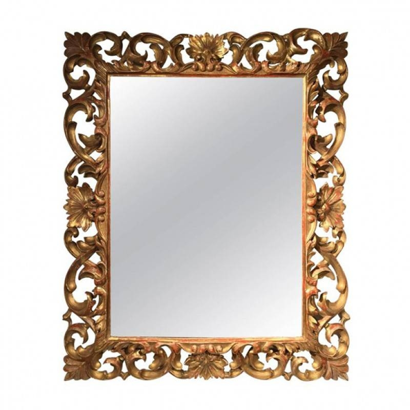 Antique And Vintage Mirrors With Regard To Gold Antique Mirrors (#2 of 20)