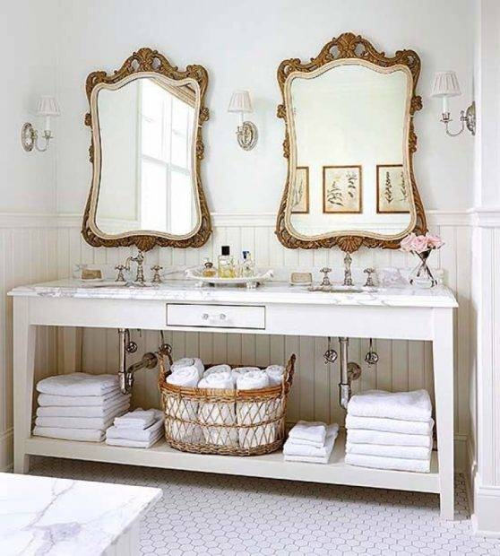 Antique Bathroom Mirrors | Several Strong Relation Features Been Throughout Vintage Bathroom Mirrors (#5 of 30)