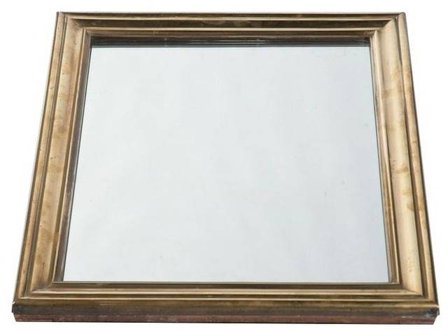 Popular Photo of Brass Mirrors