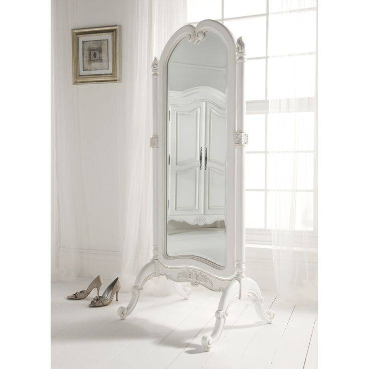 Antique Cheval Mirror – | Vintage? Classic? Antique With Regard To Shabby Chic Free Standing Mirrors (#11 of 30)