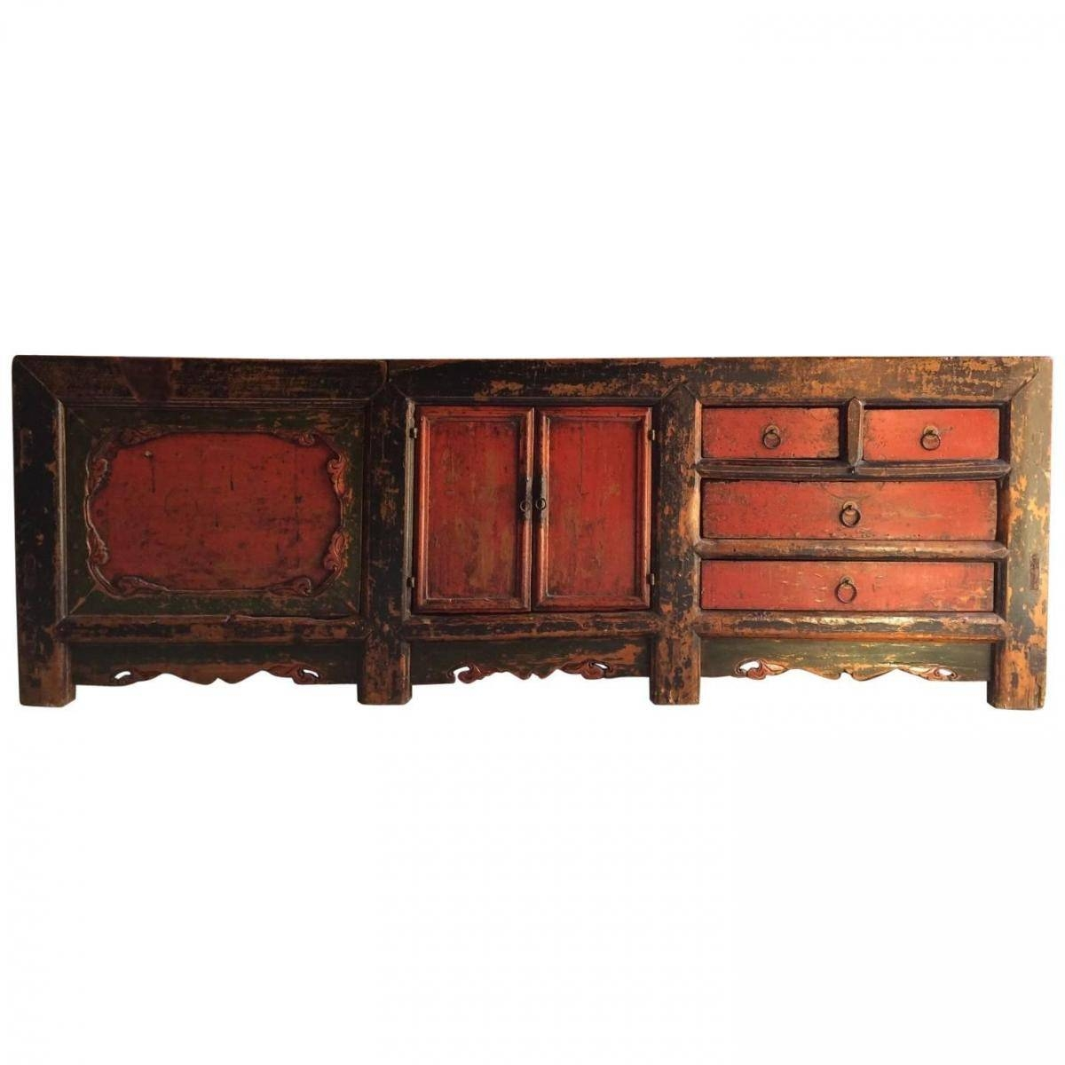 Antique Chinese Grain Store Sideboard, 1780s For Sale At Pamono Throughout Chinese Sideboards (View 7 of 20)