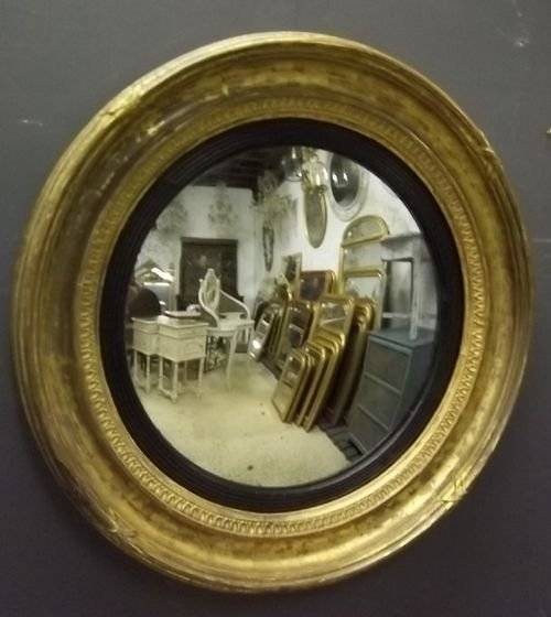 Antique Convex Mirror | 154920 | Sellingantiques.co (#10 of 30)
