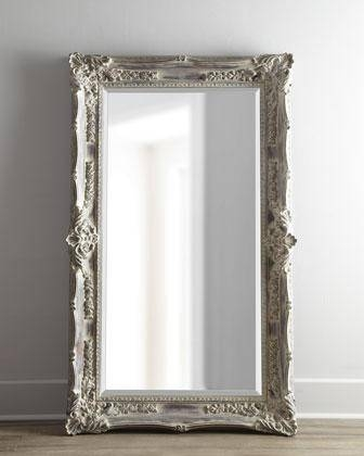 Antique French' Floor Mirror – Neiman Marcus Pertaining To French Vintage Mirrors (#7 of 20)