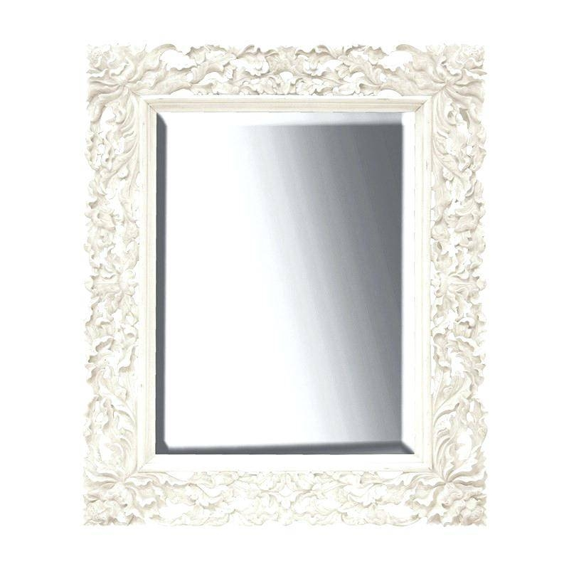 Antique French Floor Mirrorfrench Style Mirror With Shelf Wall Inside French Style Wall Mirrors (#10 of 30)