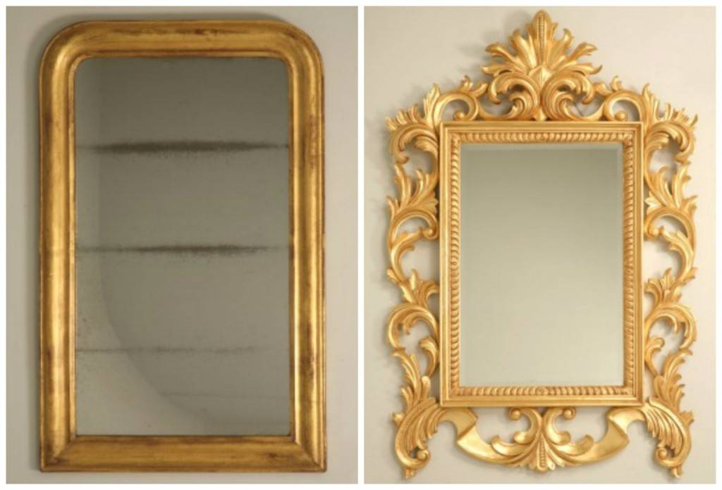 Antique French Gilded Mirror: How To Spot A Reproduction – Old Regarding Antique Gilded Mirrors (View 15 of 20)