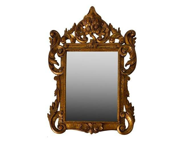 Antique French Gold Gilt Mirror – The Local Vault Regarding Gold Gilt Mirrors (#6 of 20)