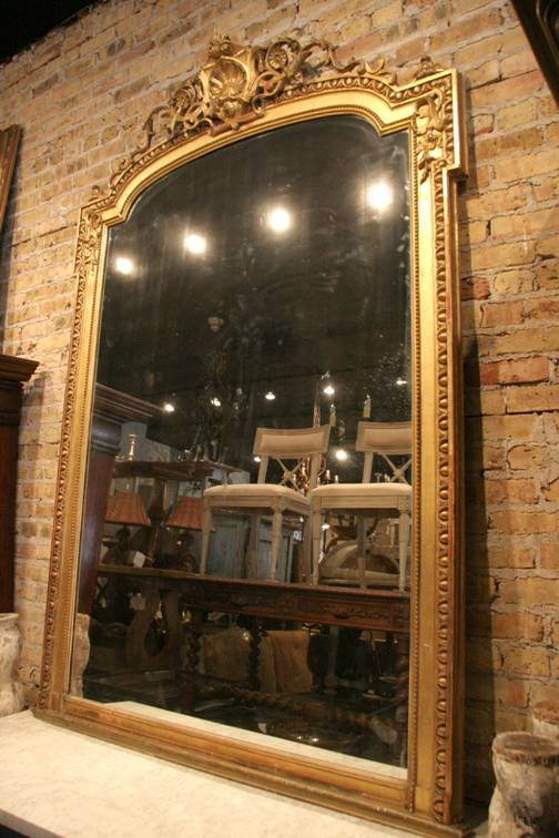 Antique French Louis Xvi Mirror – Sold – Intended For French Vintage Mirrors (#6 of 20)