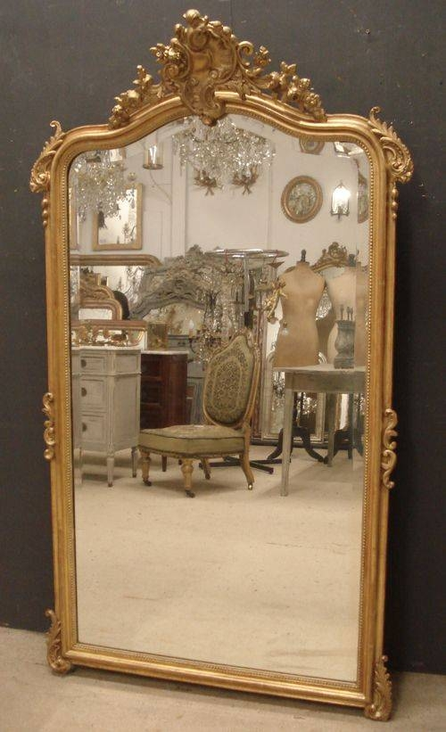 Antique French Mirror | 234067 | Sellingantiques.co (View 17 of 20)