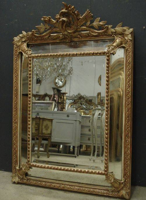 Antique French Mirror | 258231 | Sellingantiques.co (View 3 of 20)