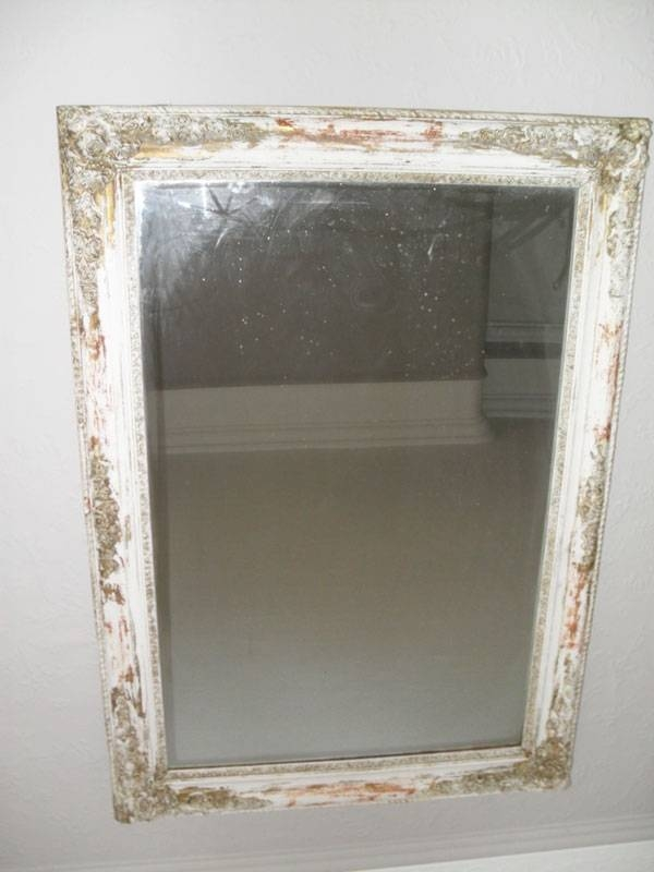Antique French Mirror Landscape Or Portrait – Antique Antique Throughout French Antique Mirrors (View 7 of 30)