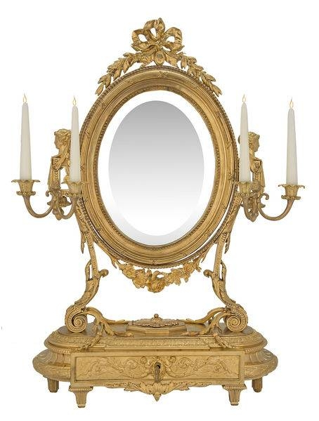 Antique French Mirrors – The Uk's Premier Antiques Portal – Online Pertaining To French Oval Mirrors (#11 of 30)