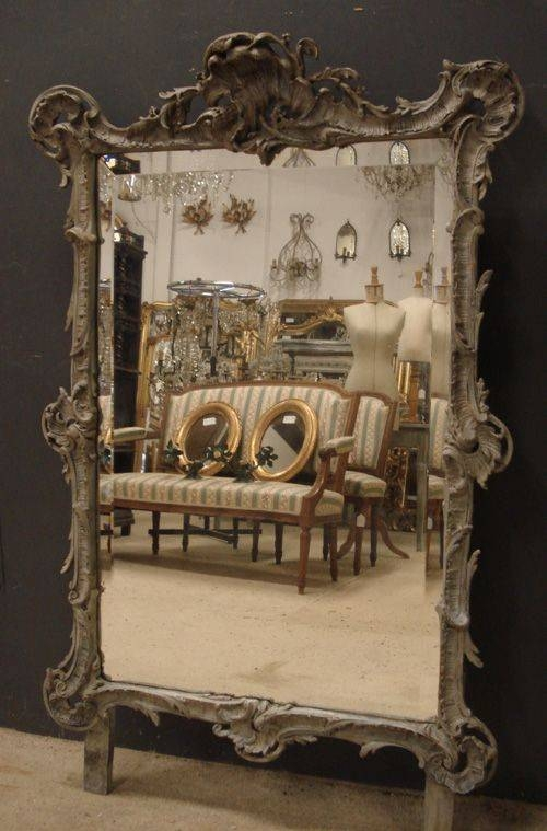 Antique French Rococo Mirror   228671   Sellingantiques.co (#6 of 15)