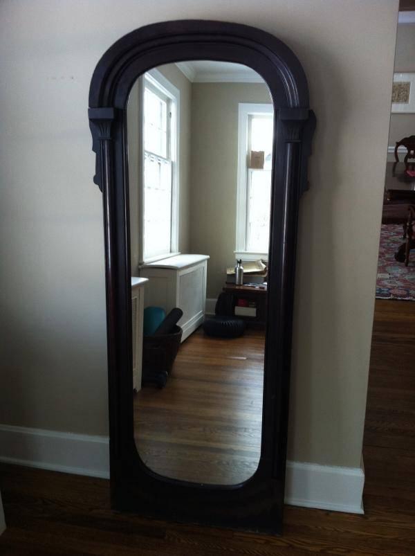 Antique Full Length Mirror – Tackk For Antique Full Length Mirrors (#1 of 20)