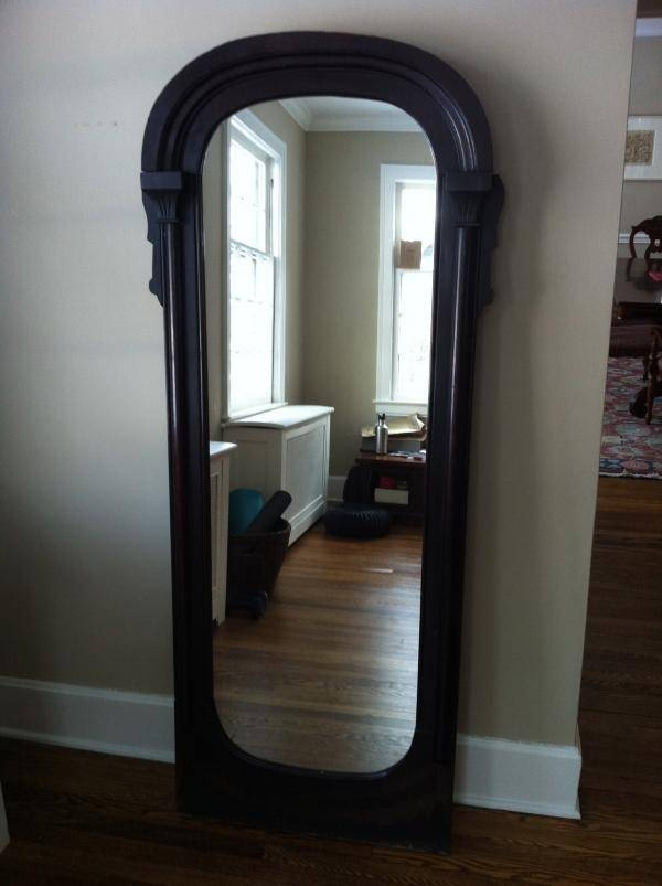 Antique Full Length Mirror – Tackk With Antique Floor Length Mirrors (#1 of 20)