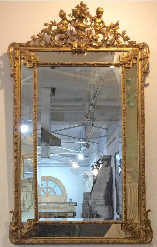 Antique Gilt Mirror | French Gilt Mirror For Sale | Pittet With Gold Gilt Mirrors (#8 of 20)