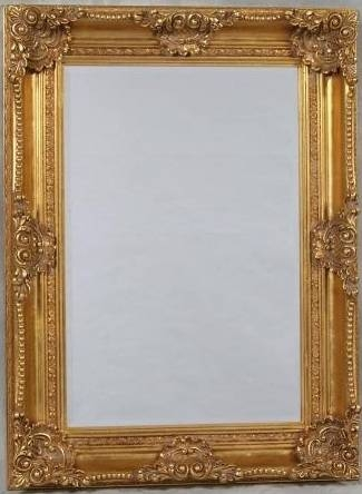 Antique Gold Mirror – Probrains For Gold Antique Mirrors (#6 of 20)