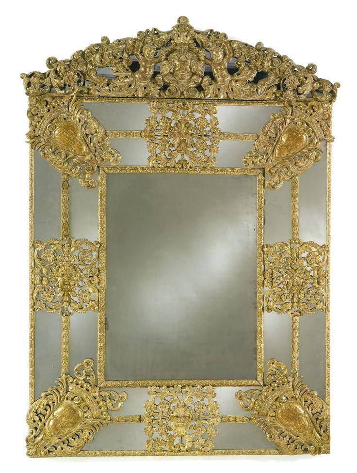 Antique Looking Mirror – Shopwiz Pertaining To Vintage Looking Mirrors (#3 of 20)
