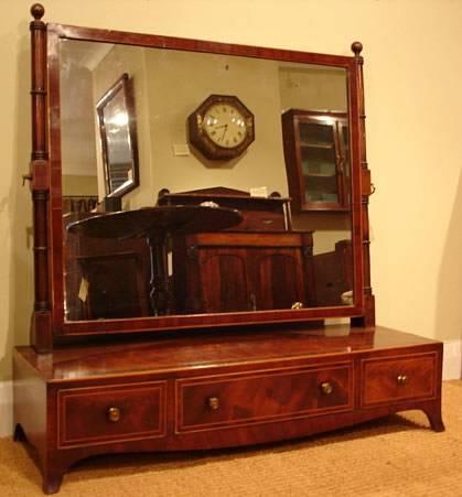 Antique Mahogany Dressing Mirror : Antique Mirrors Uk – Antique For Dressing Mirrors (#5 of 20)