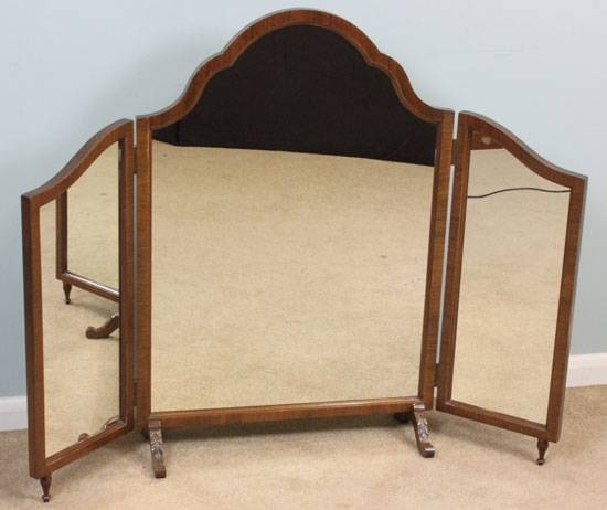 Antique Mirror Archives – Bear Glass Blog Throughout Antique Triple Mirrors (#5 of 20)