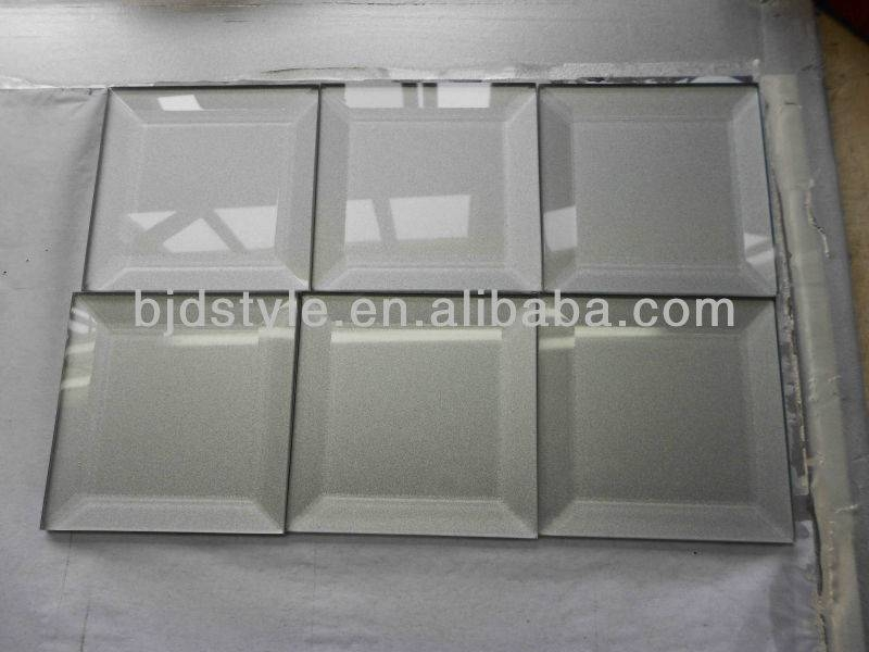 Antique Mirror Bevel Glass Tile(Bg30) – Buy Beveled Edge Mirror For Bevelled Mirrors Glass (#3 of 20)