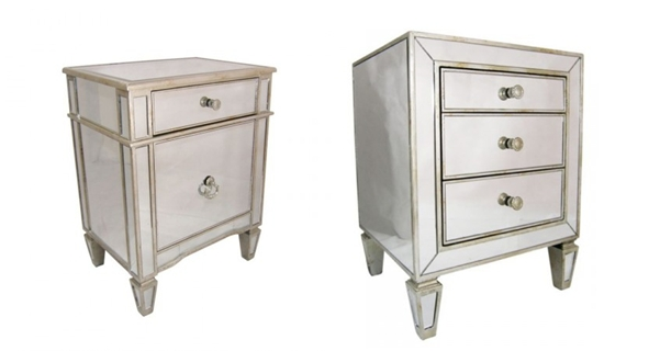 Antique Mirror Furniture Blog – Vavoom Emporium With Regard To Bedside Tables Antique Mirrors (View 8 of 20)