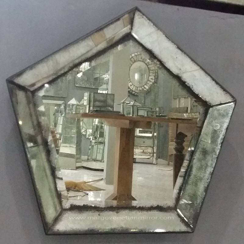 Antique Mirror Venetian Wall With Mirrors