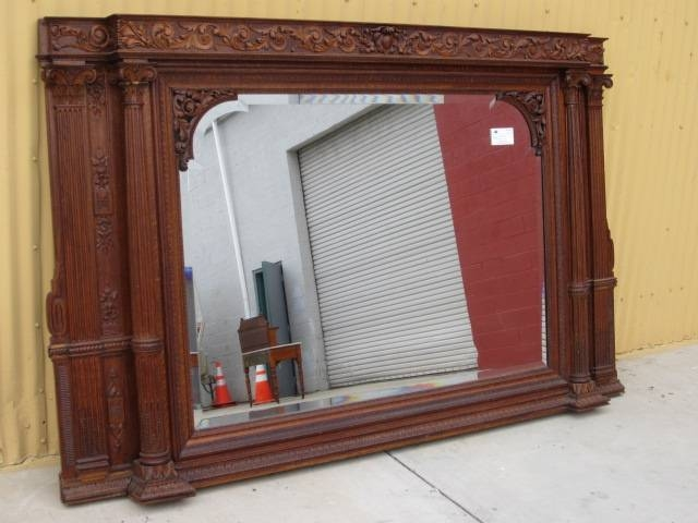 Antique Mirrors And Antique Fruniture From Antique Furniture Mart Inside  Mantle Mirrors (#9 Of