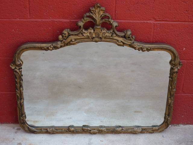 Antique Mirrors And Antique Fruniture From Antique Furniture Mart With Vintage Wall Mirrors (#3 of 20)