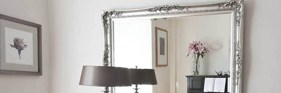 Antique Mirrors | Baroque Mirrors | Traditional Mirrors Within Silver Baroque Mirrors (#6 of 30)