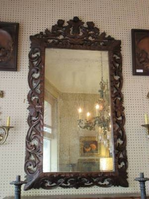 Antique Mirrors & Frames Regarding Black Antique Mirrors (View 17 of 30)