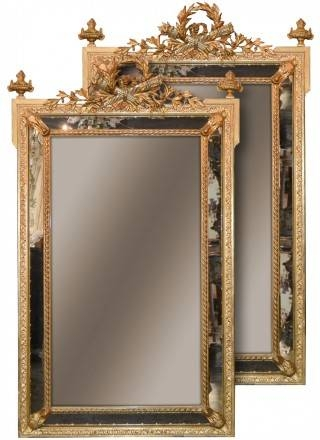 Antique Mirrors, French Mirrors And Antique Giltwood Mirror Regarding French Mirrors (#5 of 20)