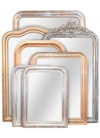 Antique Mirrors, French Mirrors And Antique Giltwood Mirror Throughout French Mirrors (#6 of 20)