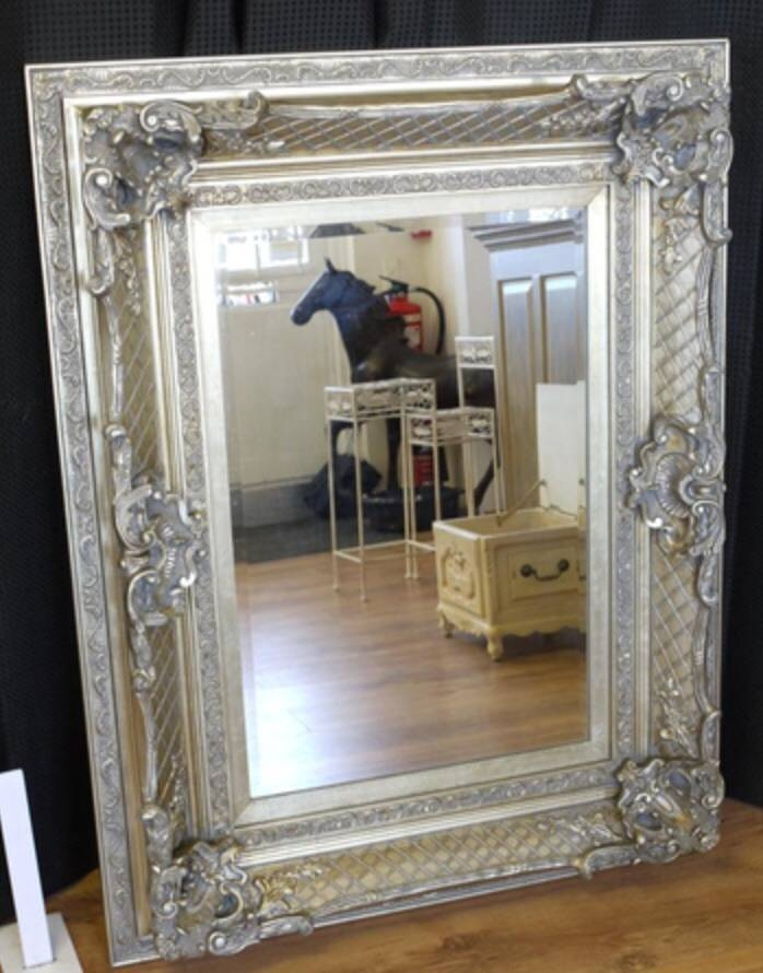 Antique Mirrors | Product Categories | Fully Furnished Throughout Silver Antique Mirrors (#5 of 20)