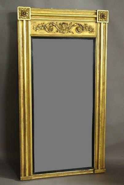 Antique Mirrors – The Uk's Premier Antiques Portal – Online Galleries Intended For Large Gilt Mirrors (#5 of 20)