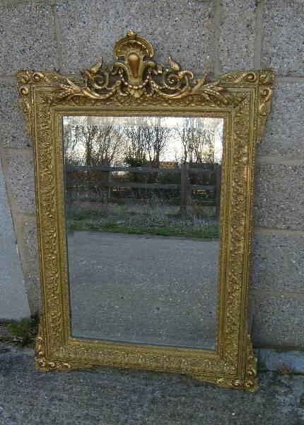 Antique Mirrors Uk Antique Gilt Mirrors – Antique French Mirrors Intended For Antique Gilt Mirrors (View 8 of 20)