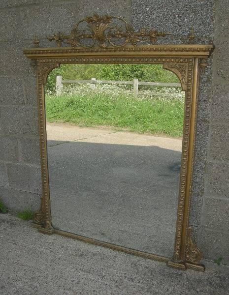 Antique Mirrors Uk  Antique Gilt Mirrors – Antique French Mirrors With Huge Antique Mirrors (#5 of 15)
