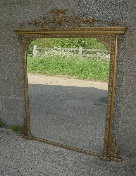 Antique Mirrors Uk  Antique Gilt Mirrors – Antique French Mirrors With Large Old Mirrors (View 10 of 30)