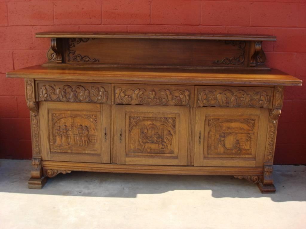 Antique Oak Sideboard For Sale — New Decoration : Antique Oak Regarding Oak Sideboard For Sale (#2 of 20)